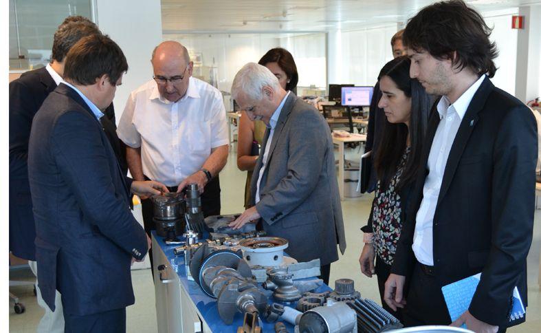 visita delegación argentina