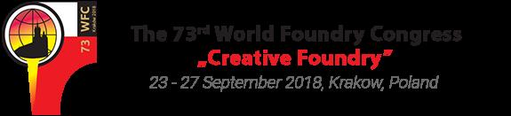 Logo 73 Congreso Mundial de Fundición