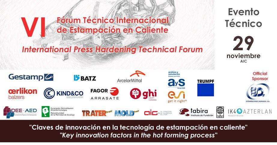 VI Forum Tecnico Internacional de Estampación en caliente